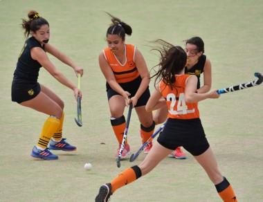 Bigornia venció ayer a Patoruzú en las tres categorías juveniles.