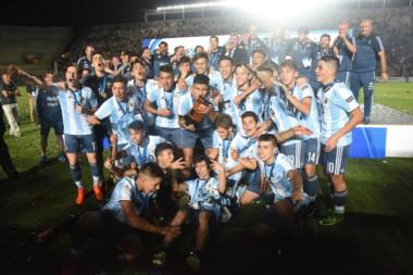 El combinado albiceleste se coronó por primera vez campeón en el Sudamericano Sub 15.