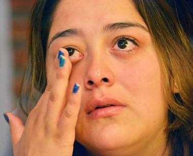Entre sollozos Marianela Correa contó su horrenda experiencia.