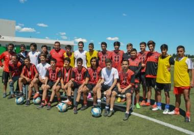 Los jóvenes de la selección Sub 15 de la Liga del Valle, que buscará el tercer fin de semana de este mes el boleto al Nacional del Consejo Federal.