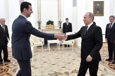El presidente Assad y su principal sostén geopolítico, Vladimir Putin en una foto de archivo.