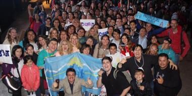 La delegación de Chubut estuvo integrada por 149 personas y  tuvo una destacada experiencia en la FNIE.