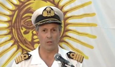 Balbi, vocero de la Armada Argentina
