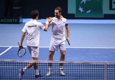 Punto Clave. Francia se quedó con el dobles y pasó al frente de la serie frente a Bélgica.