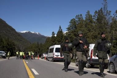 """""""Primero hubo piedrazos y luego se suscitó un tiroteo entre las fuerzas de seguridad y los mapuches"""", indicaron los voceros. (Archivo)"""