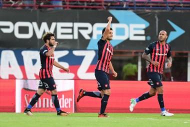 San Lorenzo viene de racha de la mano de su goleador Nicolás Blandi.