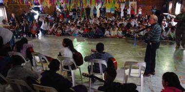 La presentación de la Orquesta Infantil se llevó  a cabo en el marco de la celebración del Día de la Música.