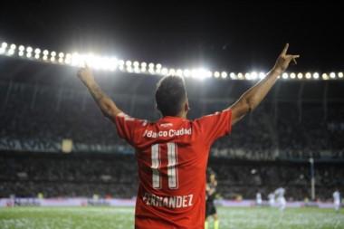 Leandro Fernández, goleador y figura determinante del Rojo.