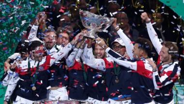 Francia obtiene su décima Copa Davis, decidida en el quinto y último punto, ganado por Lucas Pouille.