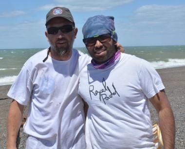 Oyarzu y Silva se quedaron con la victoria en las 18 horas de pesca.