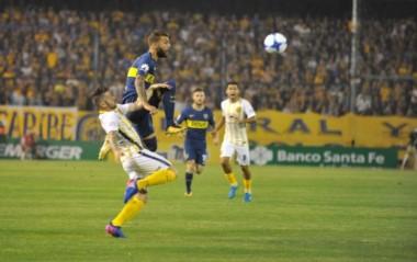 En un vibrante encuentro, Central le ganó a Boca 1 a 0 con gol de Marco Ruben.