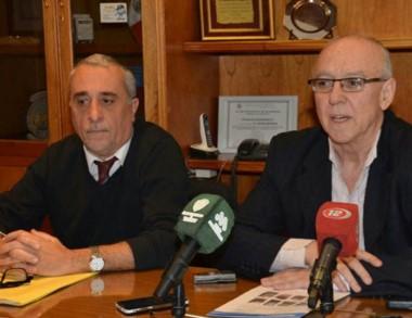 Dúo. Fernández Lubo (izquierda) y Maza, durante el anuncio oficial.