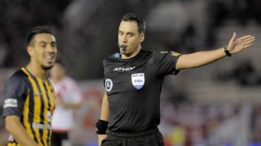 Rapallini será el encargado de dirigir River vs. Atlético Tucumán por la final de la Copa Argentina.