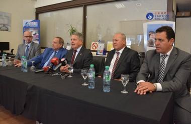 Autoridades de Sancor  Seguros anunciaron la apertura de nuevas oficinas en la ciudad de Trelew.