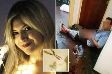 Barattini atacó con una tijera de podar al hombre de 40 años por motivos desconocidos, mientras ambos mantenían una relación sexual.