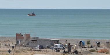 Usurpación. Una postal de los terrenos ocupados ilegalmente en Playa Magagna, que siguen aún allí.