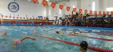 La natación comenzará mañana, pero hoy los chicos se aclimataron.