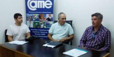 La reunión de entidades intermedias con el  secretario de Obras Públicas, Alejandro Wengier.