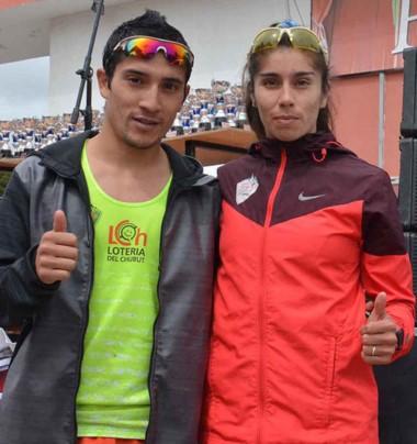 La pareja ideal. Joaquín Arbe y Alejandra Carinao son un equipo, tanto puertas adentro como en la pista.
