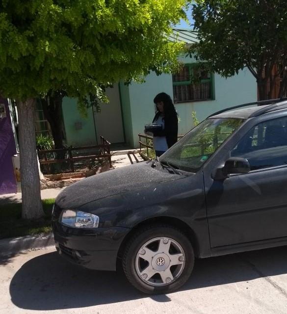 Inspectores encontraron el vehículo y el domicilio de la persona denunciada