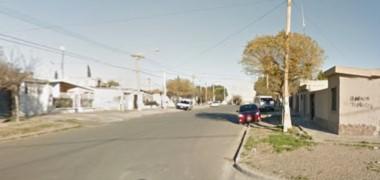 El intento de robo ocurrió en una casa de Mitre Norte al 100 (imagen google maps)