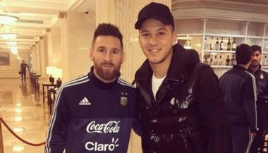 La increíble anécdota entre Messi y Driussi en Moscú.