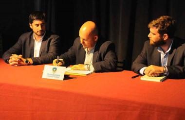 La firma del acuerdo entre el municipio y la CIPPEC fue realzada por el intendente Ricardo Sastre.