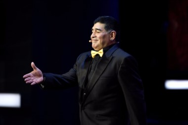 Maradona dijo que es accesible el grupo de Argentina pero