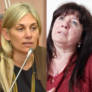 Duelo. Papaiani (izquierda) y una disputa virtual con Dufour.