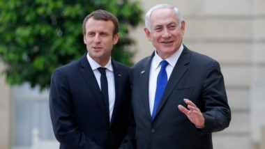 Netanyahu llego a Paris debido a un a gira pautada previamente al pronunciamiento de Trump que pateó el tablero en Medio Oriente.