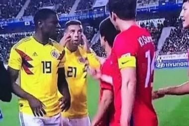Edwin Cardona fue sancionado por un gesto discriminatorio contra Corea del Sur.