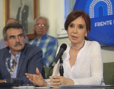 """""""Impidieron que la sociedad se exprese en libertad y reprimieron, en un hecho del que yo no tengo memoria"""", dijo Cristina en su red social. (Archivo)."""