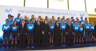 El Movistar Team presentó ayer su equipo para las próximas dos temporadas, con el chubutense Sepúlveda.
