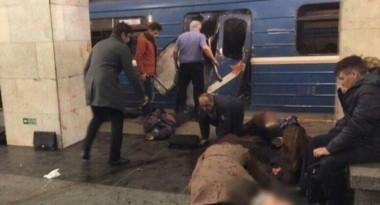 Imagen de archivo de un ataque ejecutado en abril de este año en el subte de San Petersburgo.