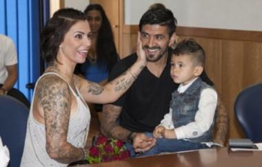 Lucho González fue acusado de intento de homicidio por su mujer.