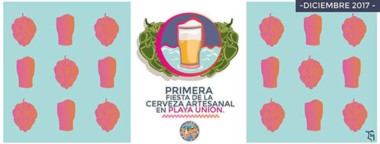 En Playa Unión se desarrollará la primera edición de la Fiesta Regional de la Cerveza Artesanal.