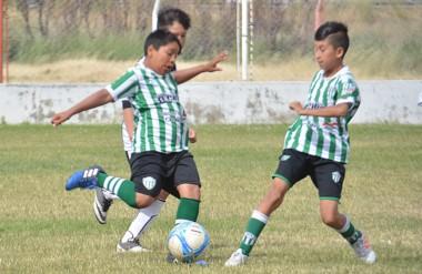 En el fútbol 11 jugado en cancha de Huracán, los chicos de Germinal vencieron a Unión Santacruceña por 4-3.