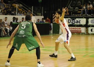 Gimnasia de Comodoro perdió el invicto de local en la Liga Nacional en su segunda presentación.