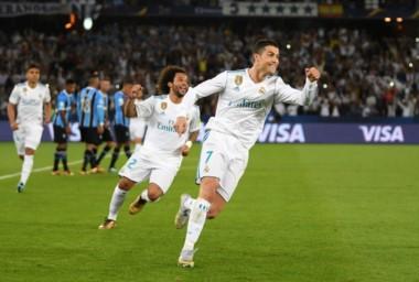 Real Madrid venció 1-0 a Gremio con gol de Cristiano Ronaldo y es otra vez campeón.