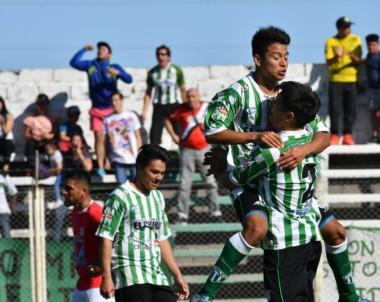 Con goles de Pellejero y Pérez, Germinal igualó la serie en el primer tiempo.