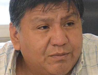 """Jorge """"Loma"""" Ávila, secretario general del Sindicato de Petroleros Privados."""