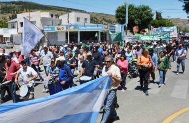 En la Cordillera hubo una muestra contundente de la gente que se manifiestó en contra de las reformas.