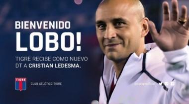 """El Lobo dirigirá el primer equipo en su carrera. Mariano Herrón y Martín """"gula"""" Aguirre serán sus ayudantes y Alejandro Tocalli su preparador físico."""