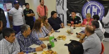 Advertencia. La CGT paralela se opuso a las reformas de la administración Macri y quiere ver al gobernador.