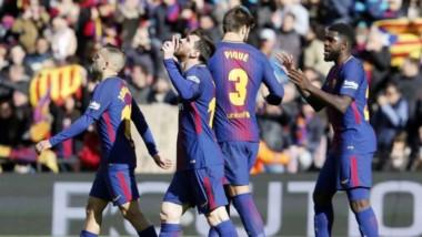Lionel Messi hizo un gol en el empate de Barcelona ante Celta por la liga española.