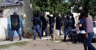 Las actuaciones policiales se realizaron en la zona norte y oeste de la ciudad del Golfo Nuevo.