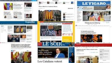 Los diarios de todo el mndo se hacen eco de unos comicios cruciales no solo para España.