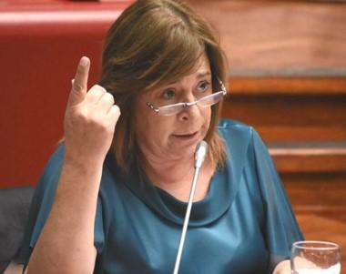 La diputada dijo que las cooperativas del interior no podrán subsistir.