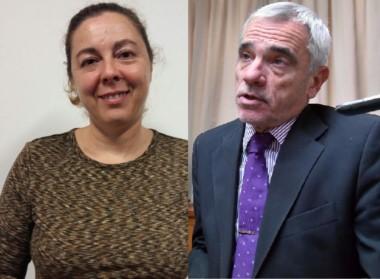 Pacheco, de la AMFJCh, y Vivas, del Superior Tribunal.