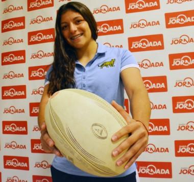 Anael visitó Diario Jornada y contó todas sus experiencias junto al seleccionado argentino de rugby.